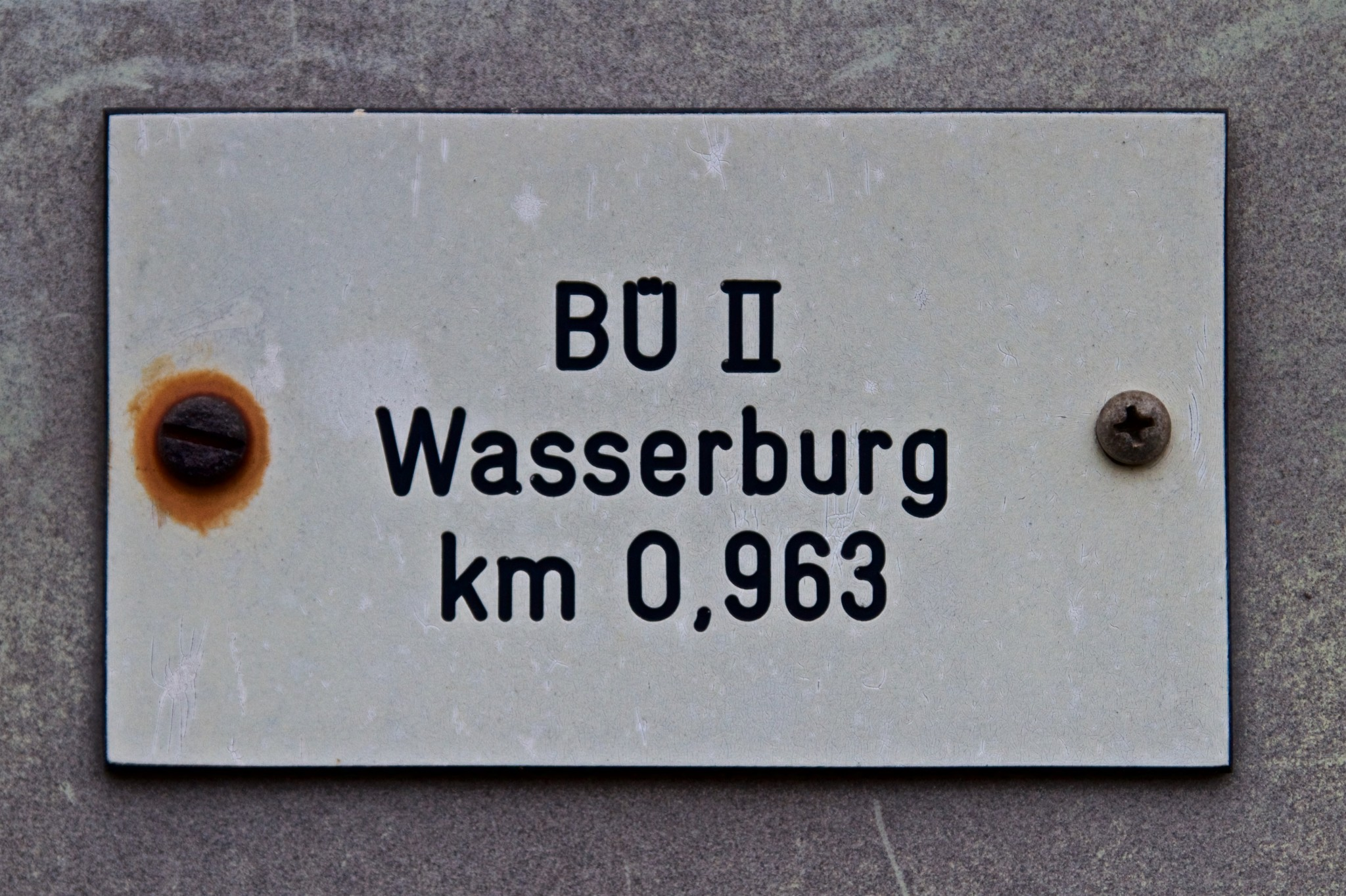 Schaltkastenbeschriftung Nähe Megglestraße