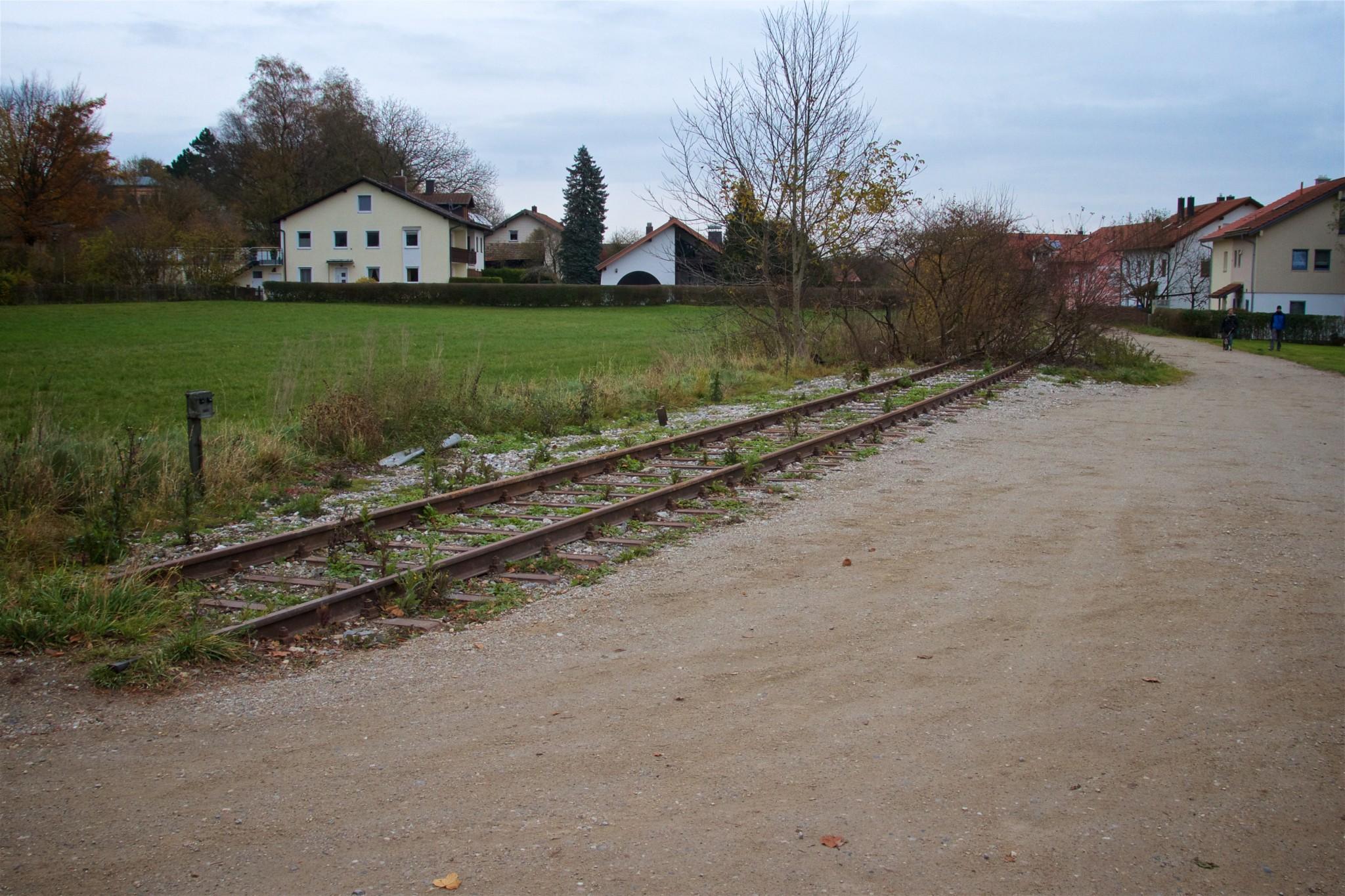 Streckendetail an der Megglestraße