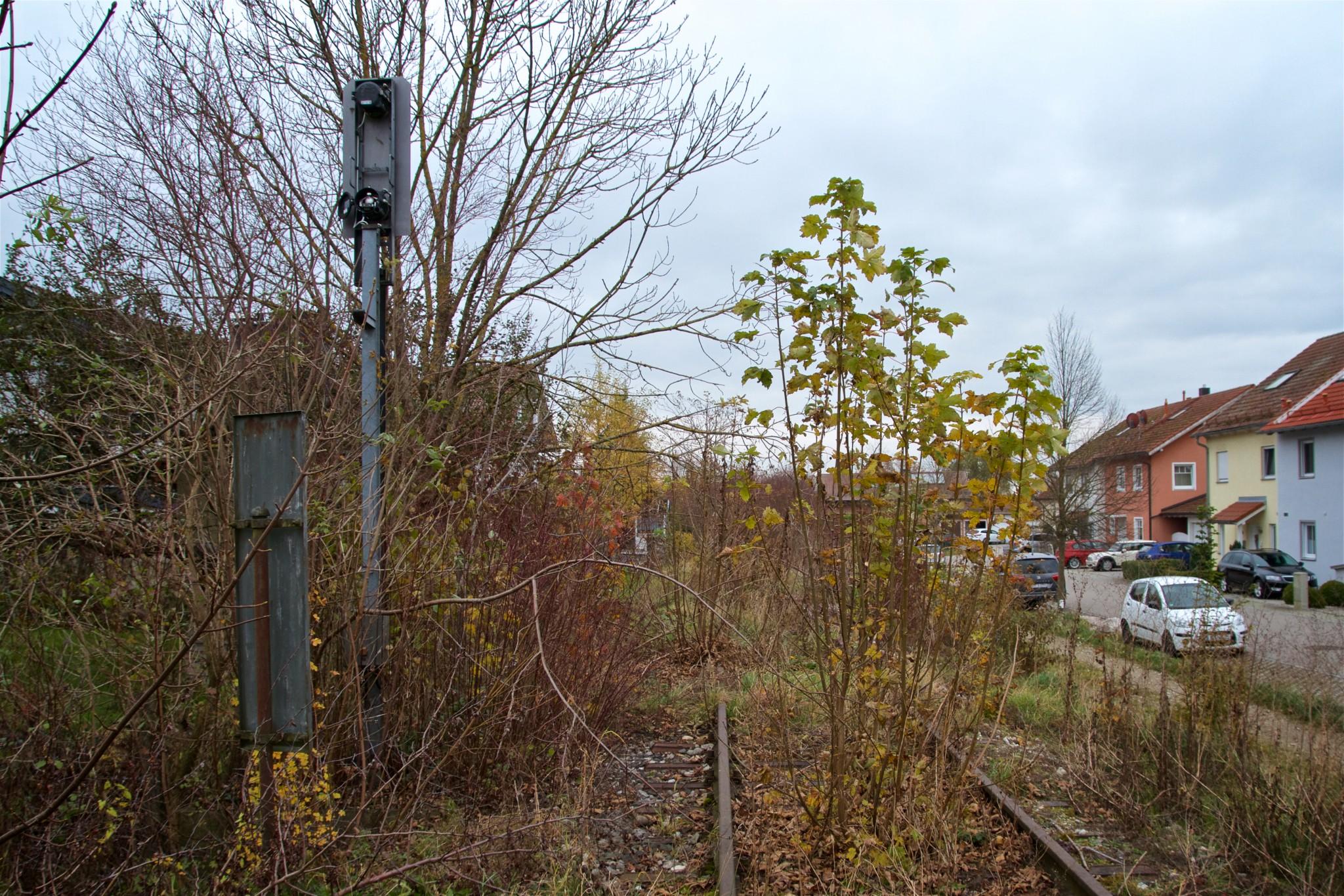 Streckendetail an der Erlenstraße